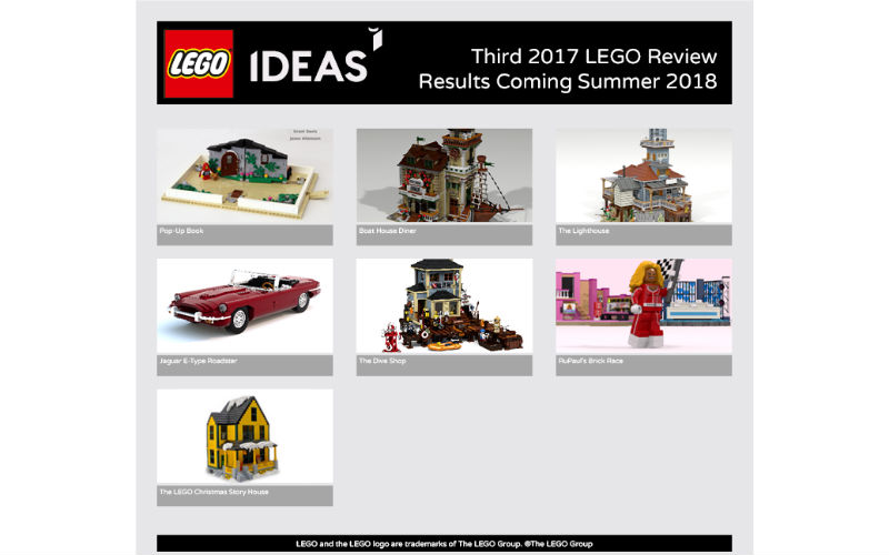 lego ideas 2017 results