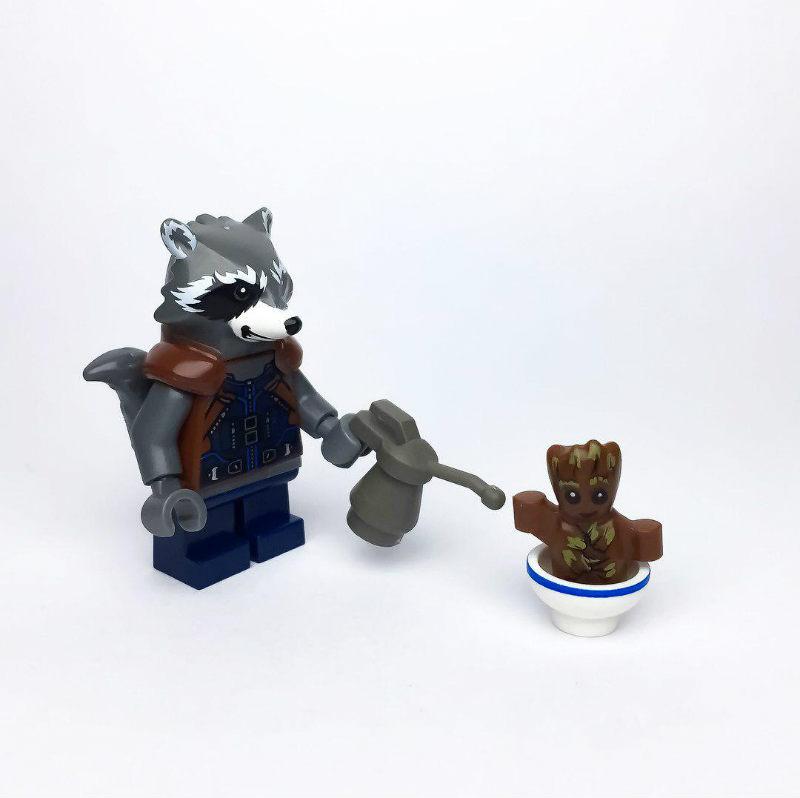 lego moc groot
