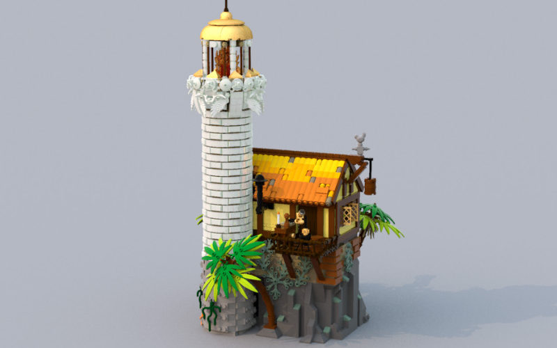 lego old lighthouse