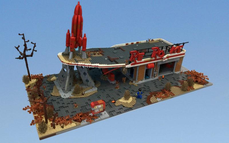 fallout LEGO moc