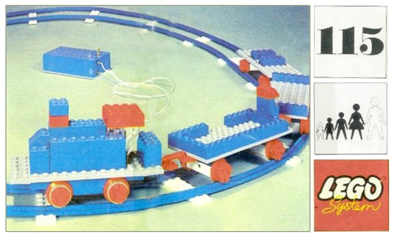 LEGO Train 115 set