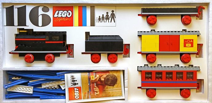 116 Train LEGO