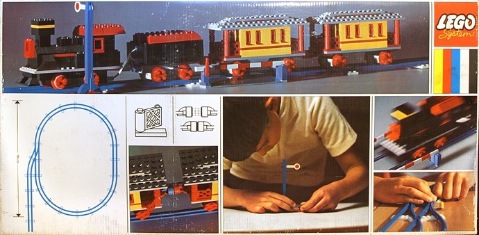 lego super train 119