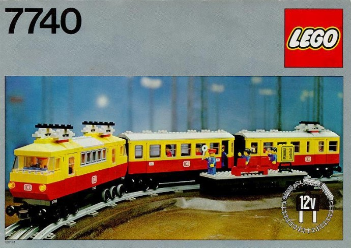 7740 Intercity Passenger Train Set