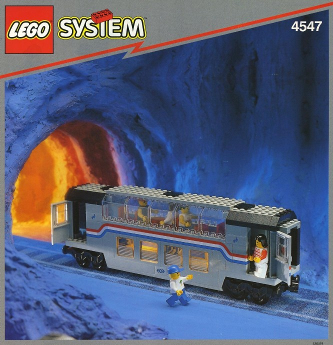 LEGO 4551 Crocodile Locomotive