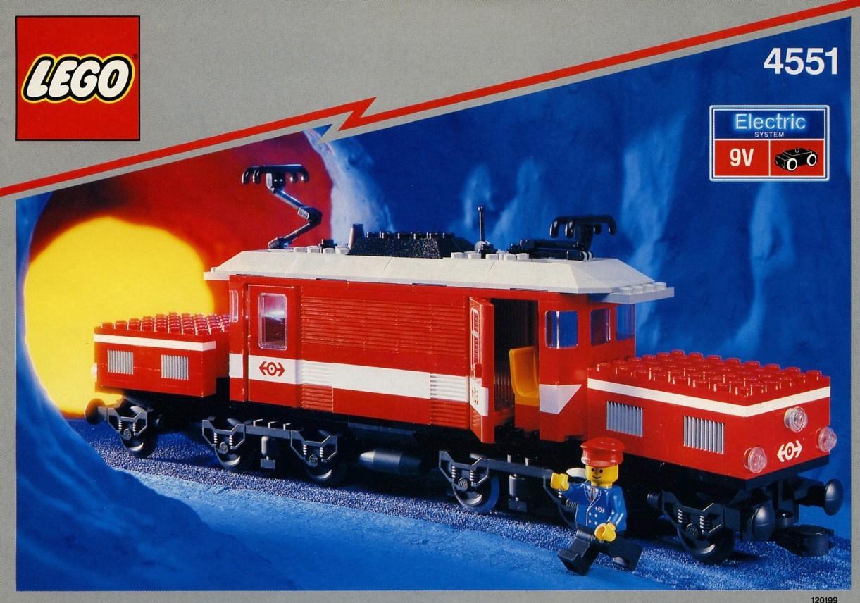 LEGO 4537 Twin Tank Transporter