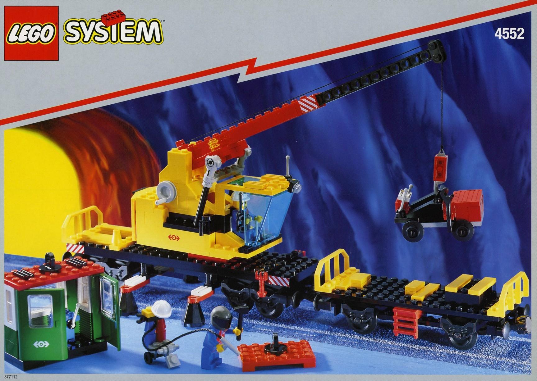 LEGO 4552 Cargo Crane