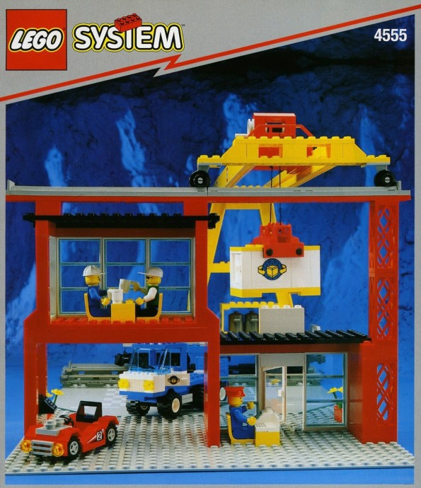 LEGO 4555 Cargo Station