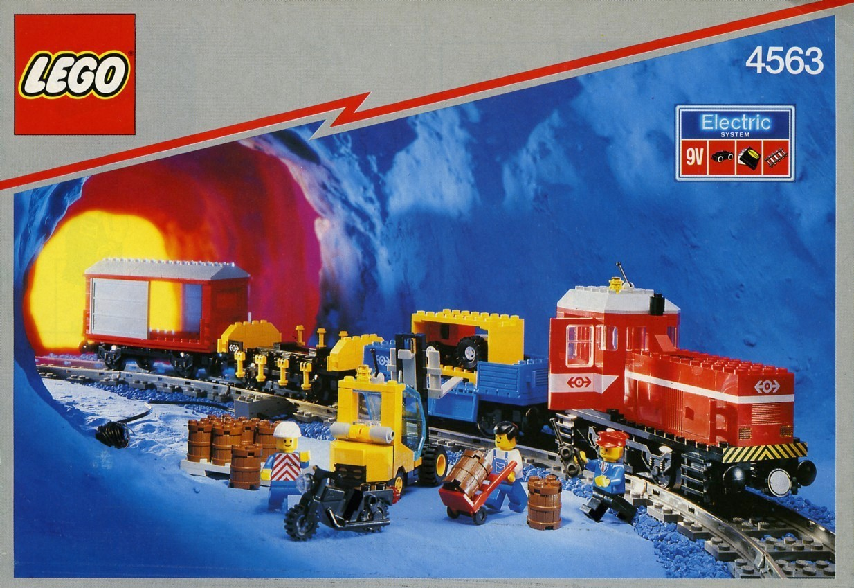 LEGO 4563 Load 'N Haul Railroad