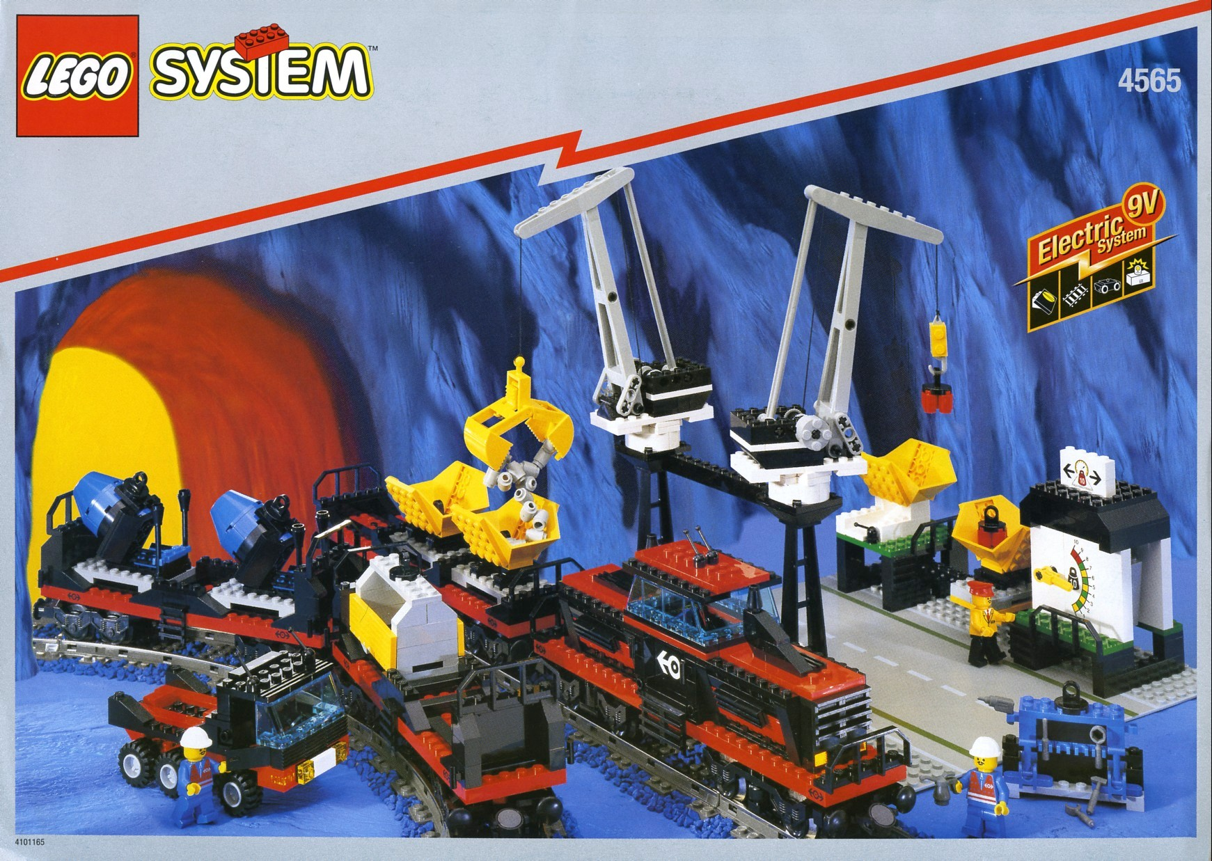 LEGO 4565 Freight and Crane Railway