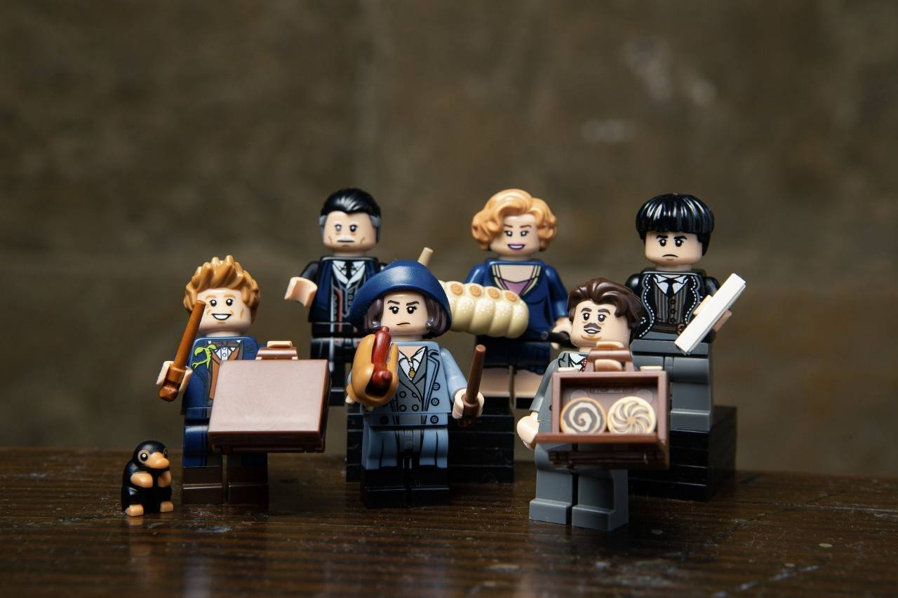 lego minifigures fantastic beasts