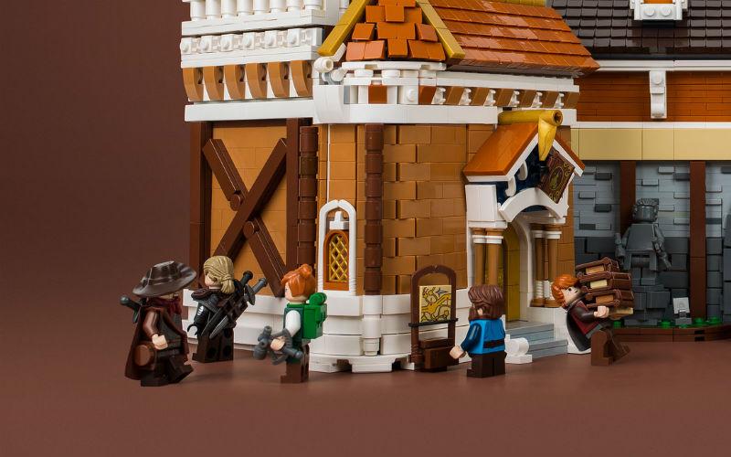 lego library moc