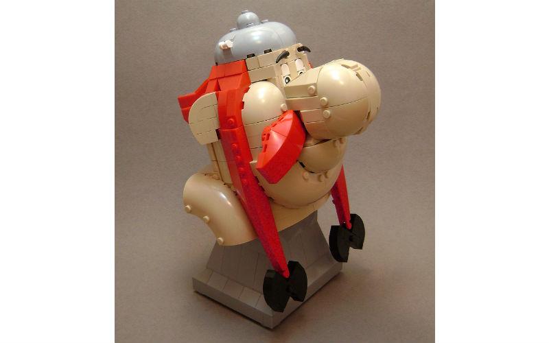 lego obelix moc