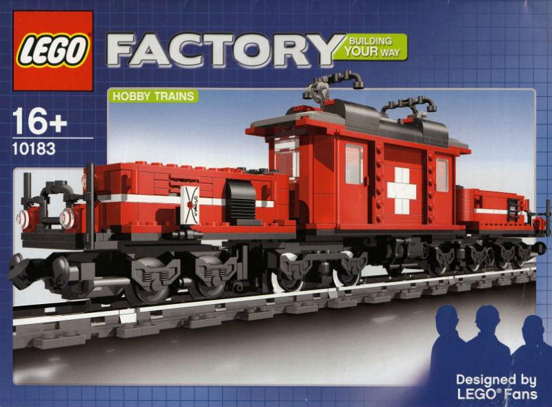 lego hobby train
