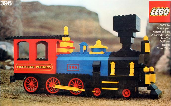 lego 396 Expert train
