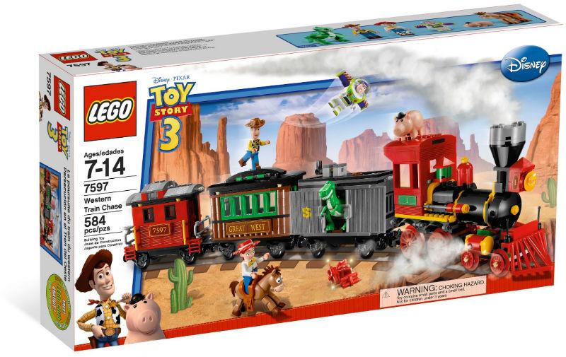 7597 lego train