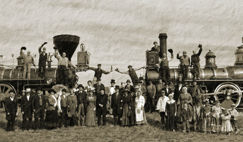 1881 gathering trains