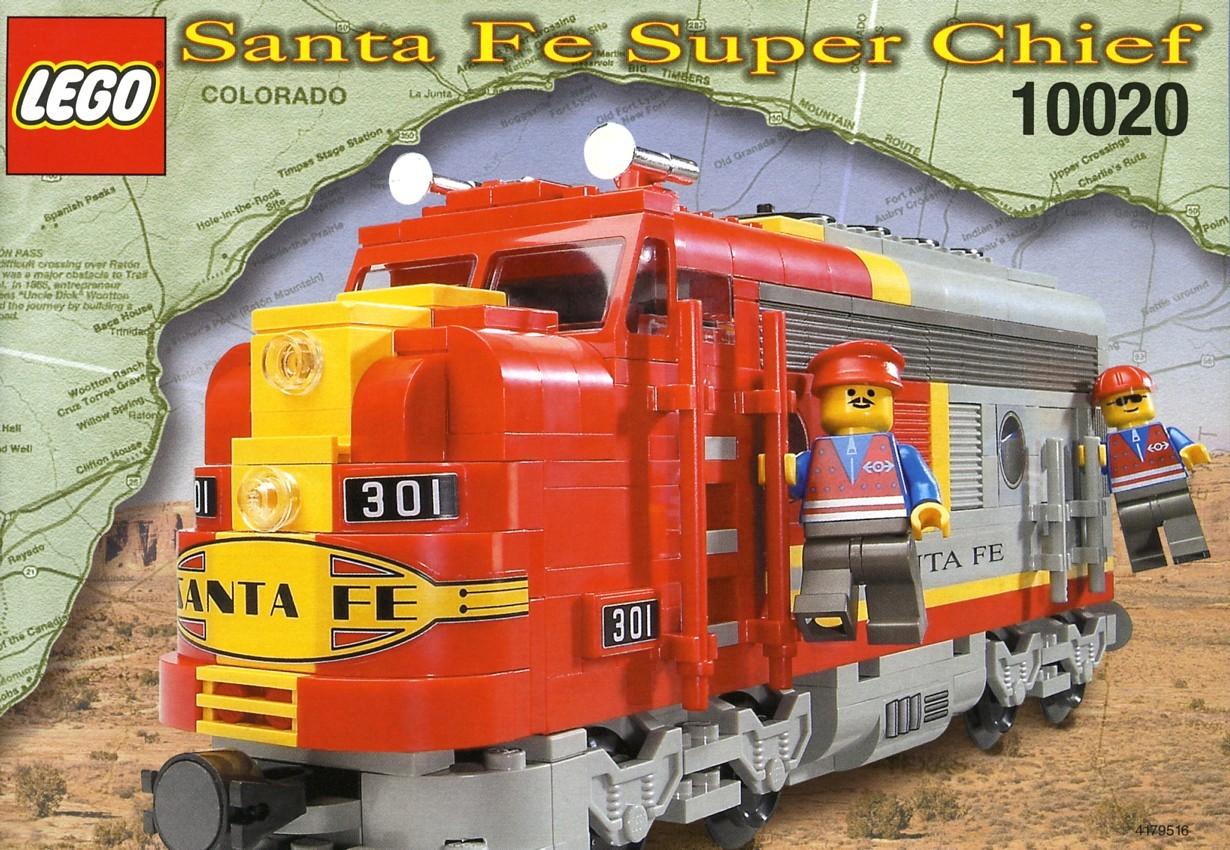 lego 10020 Santa Fe Super Chief