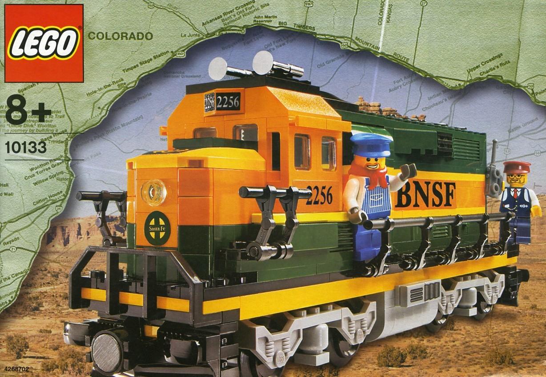 lego 10133 BNSF
