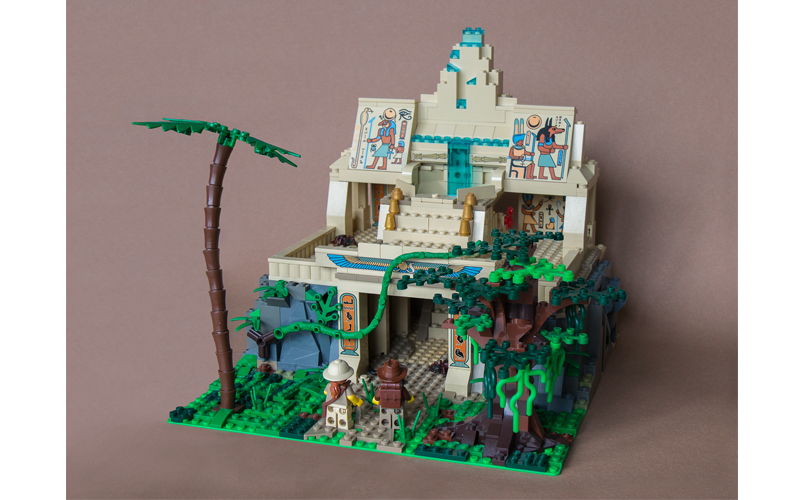 lego moc lost temple
