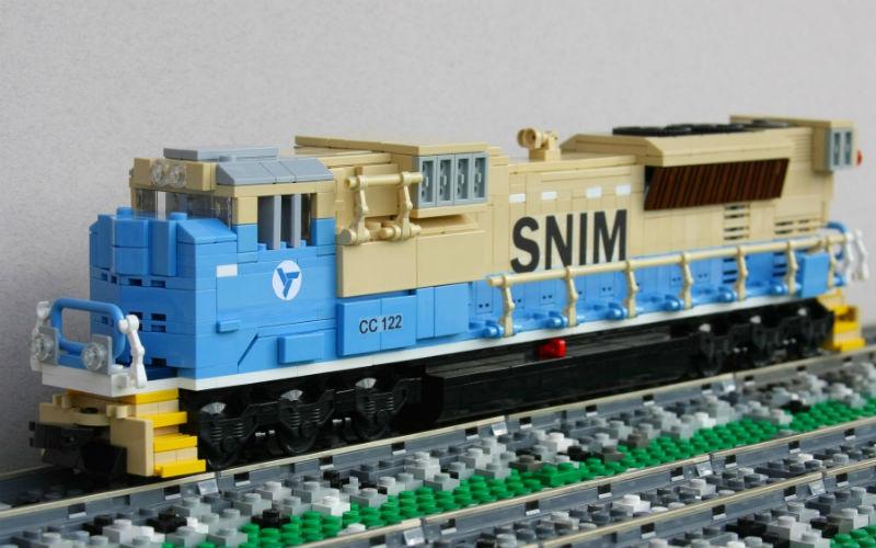 lego SNIM SD70ACs