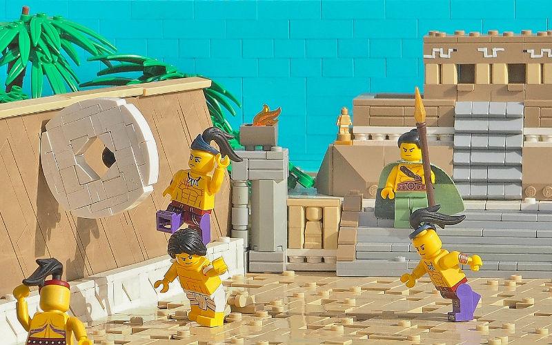 lego moc Aztec Game