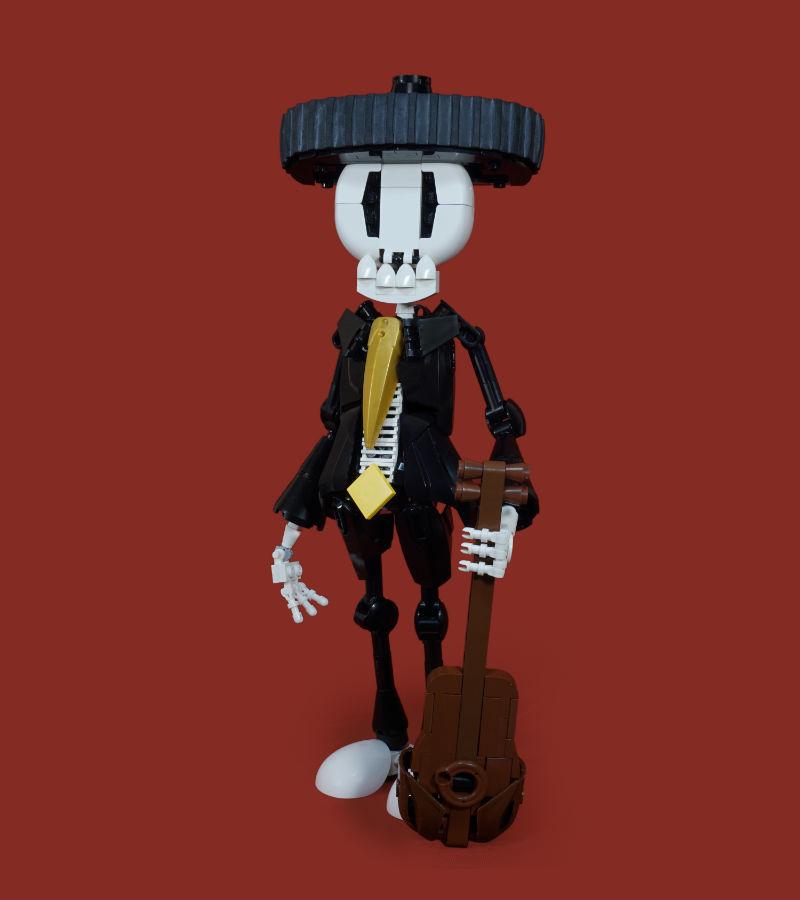 lego moc figures Dia de Los Muertos