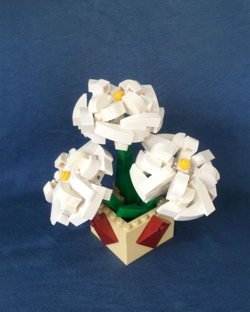 rose lego