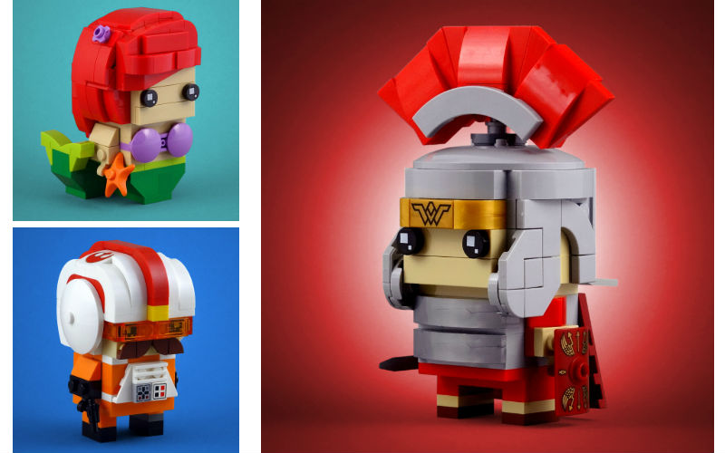 centurion moc lego brickheadz