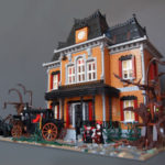 Haunted Mansion LEGO MOC