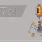 Invader T3 Bacteriophage LEGO MOC