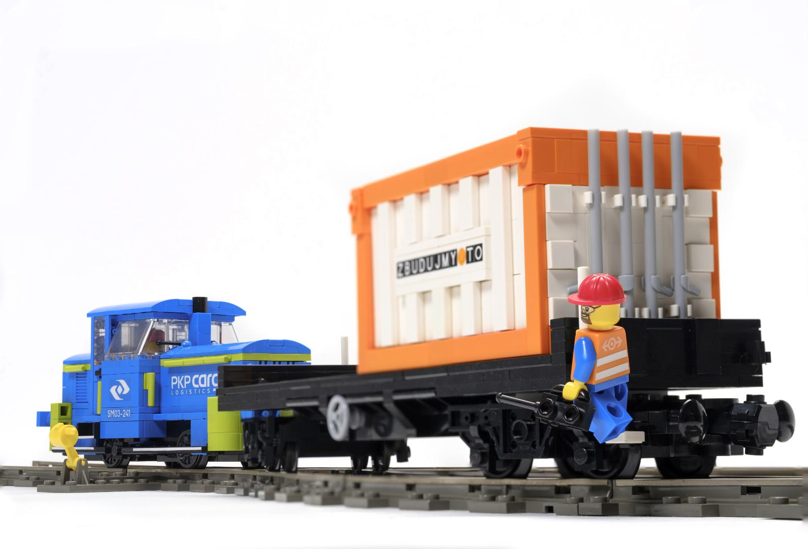 lego саморобка потяг
