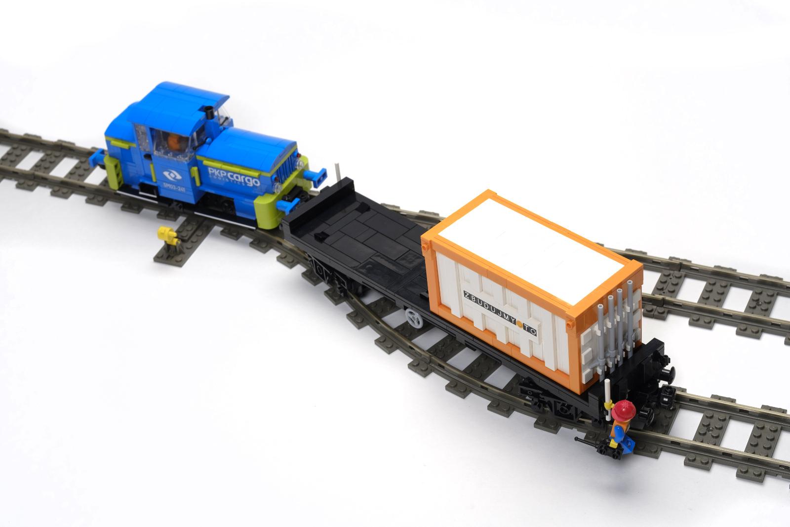 маневровий лего саморобка train