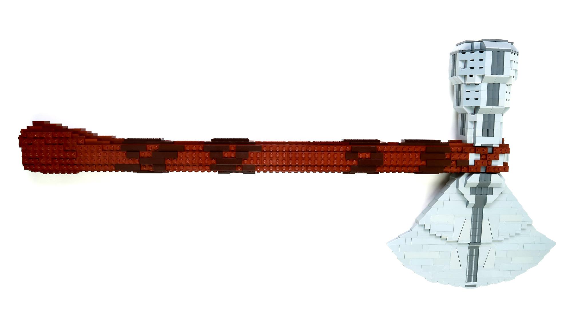 lego moc axe of thor