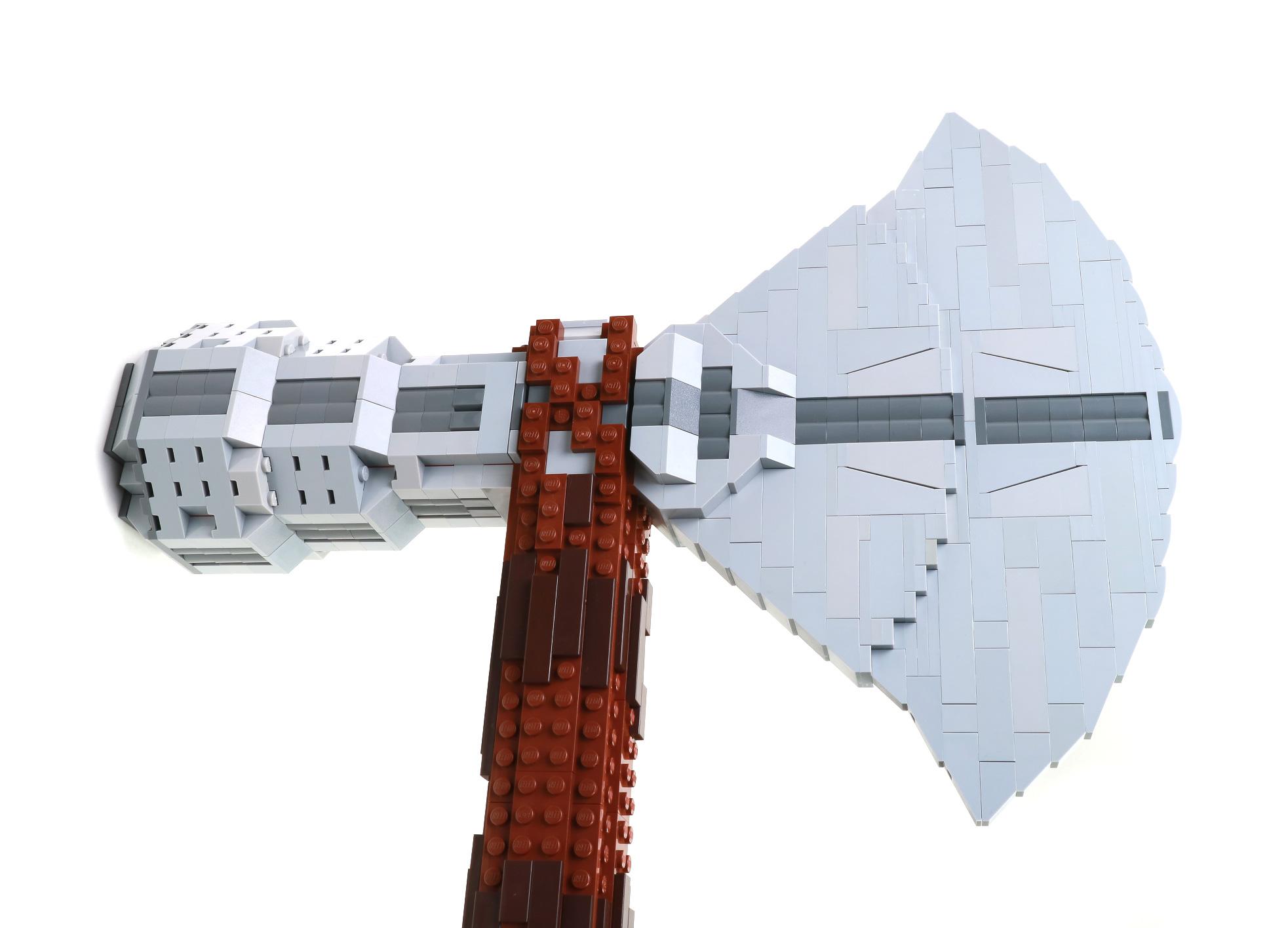 lego саморобка сокира тора
