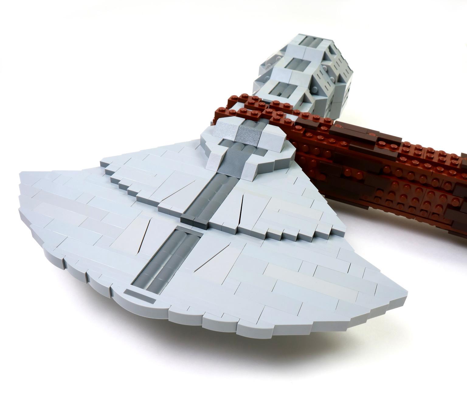 самоделка lego мстители топор тора