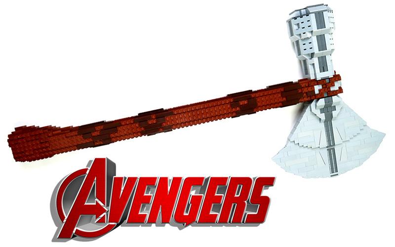 axe of thor lego moc