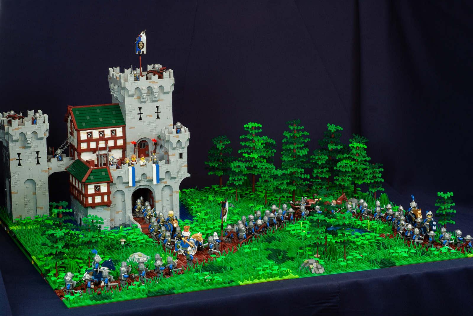 moc lego castle