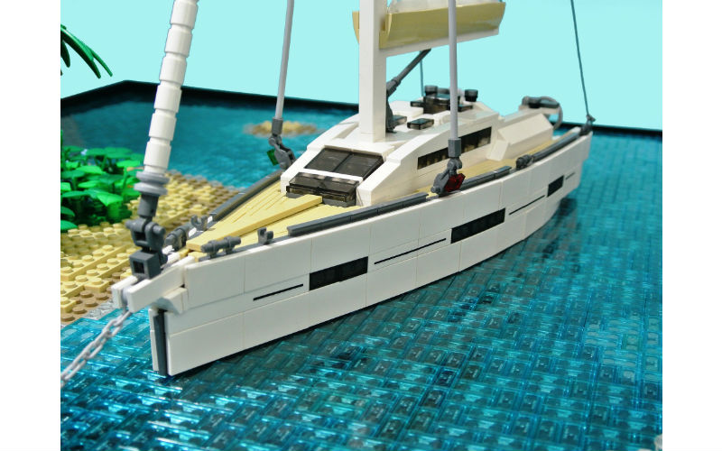 lego moc yacht islands
