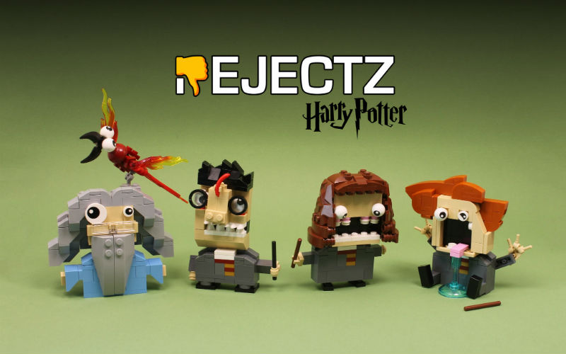 lego rejectz moc harry potter