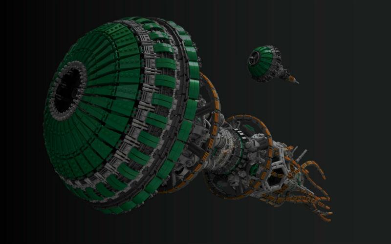moc lego space ship