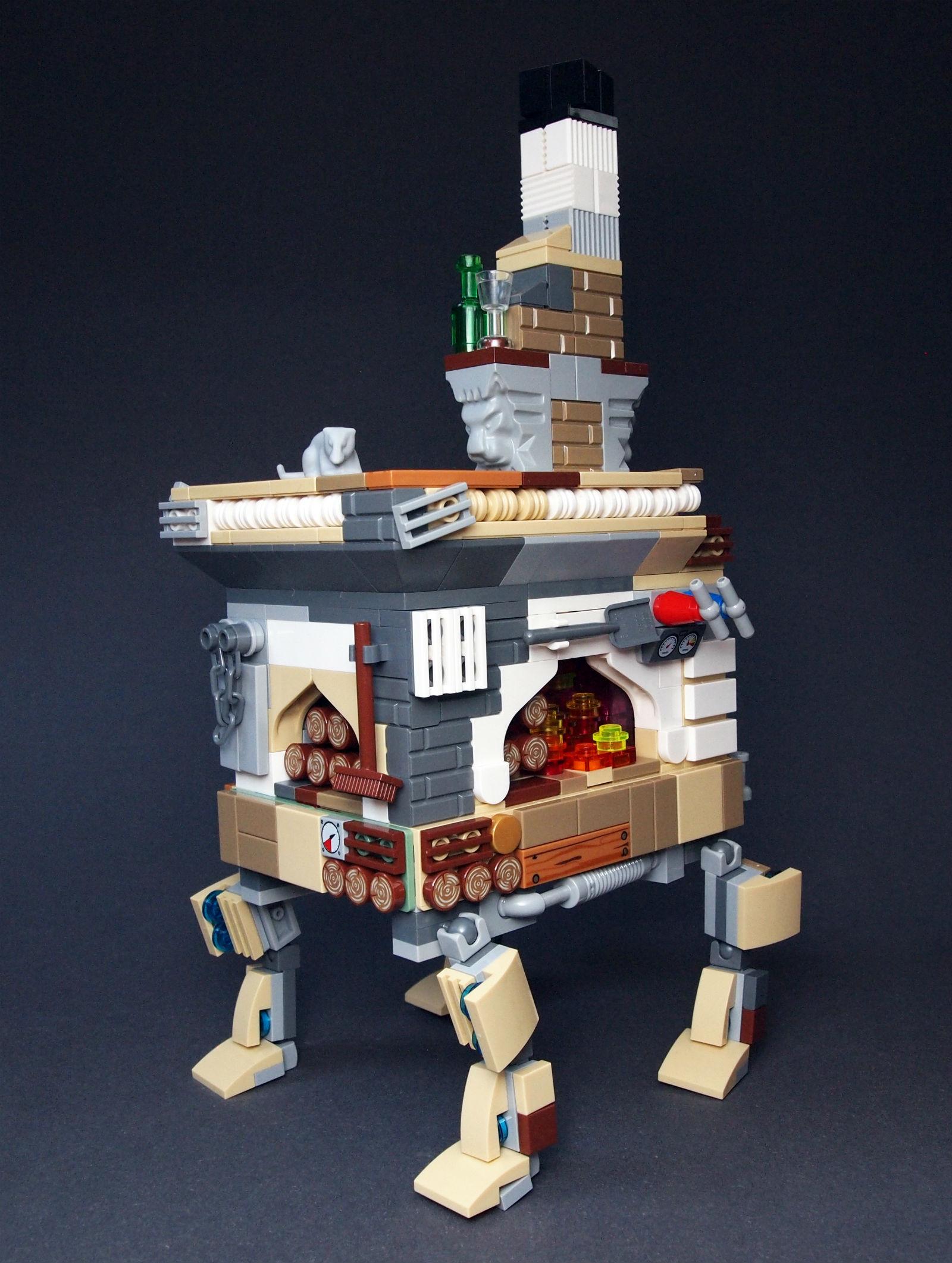 lego саморобка піч