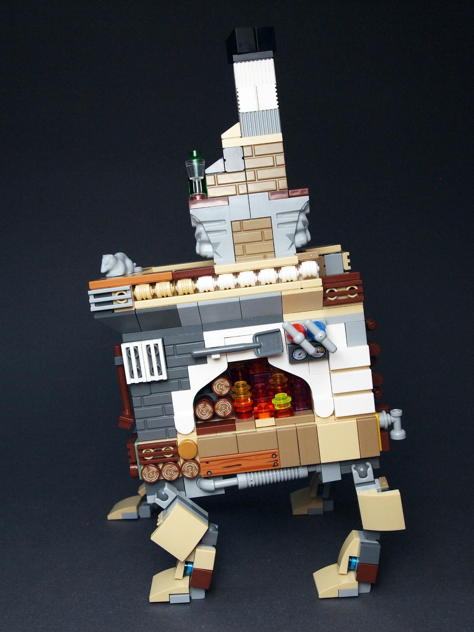 кибер lego печка