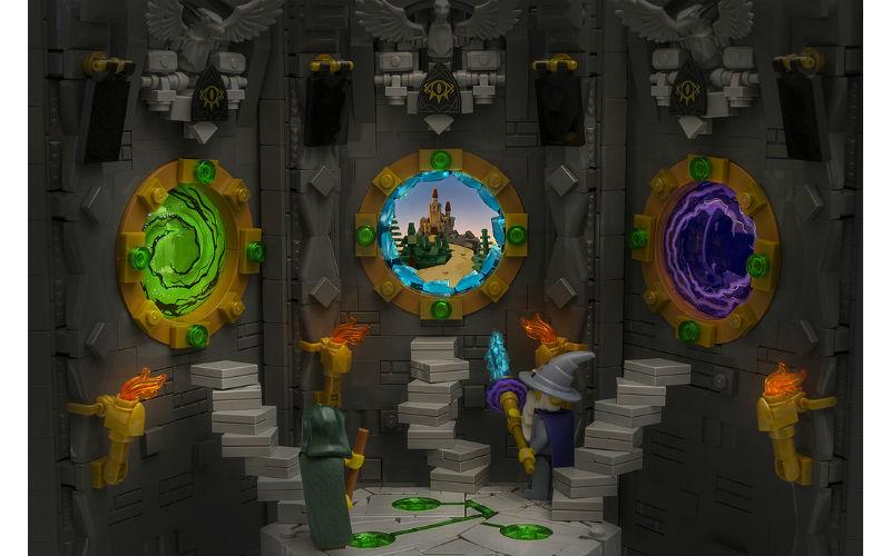 lego портали чарівника