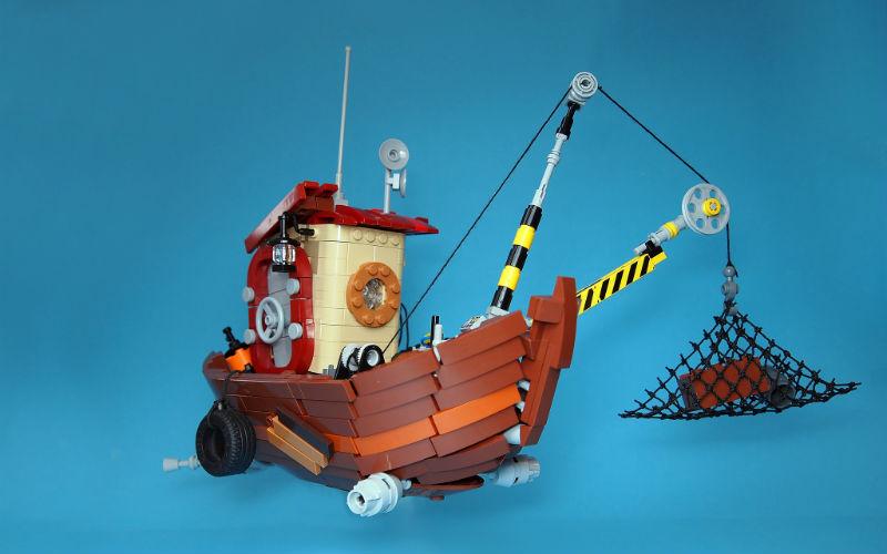lego moc boat