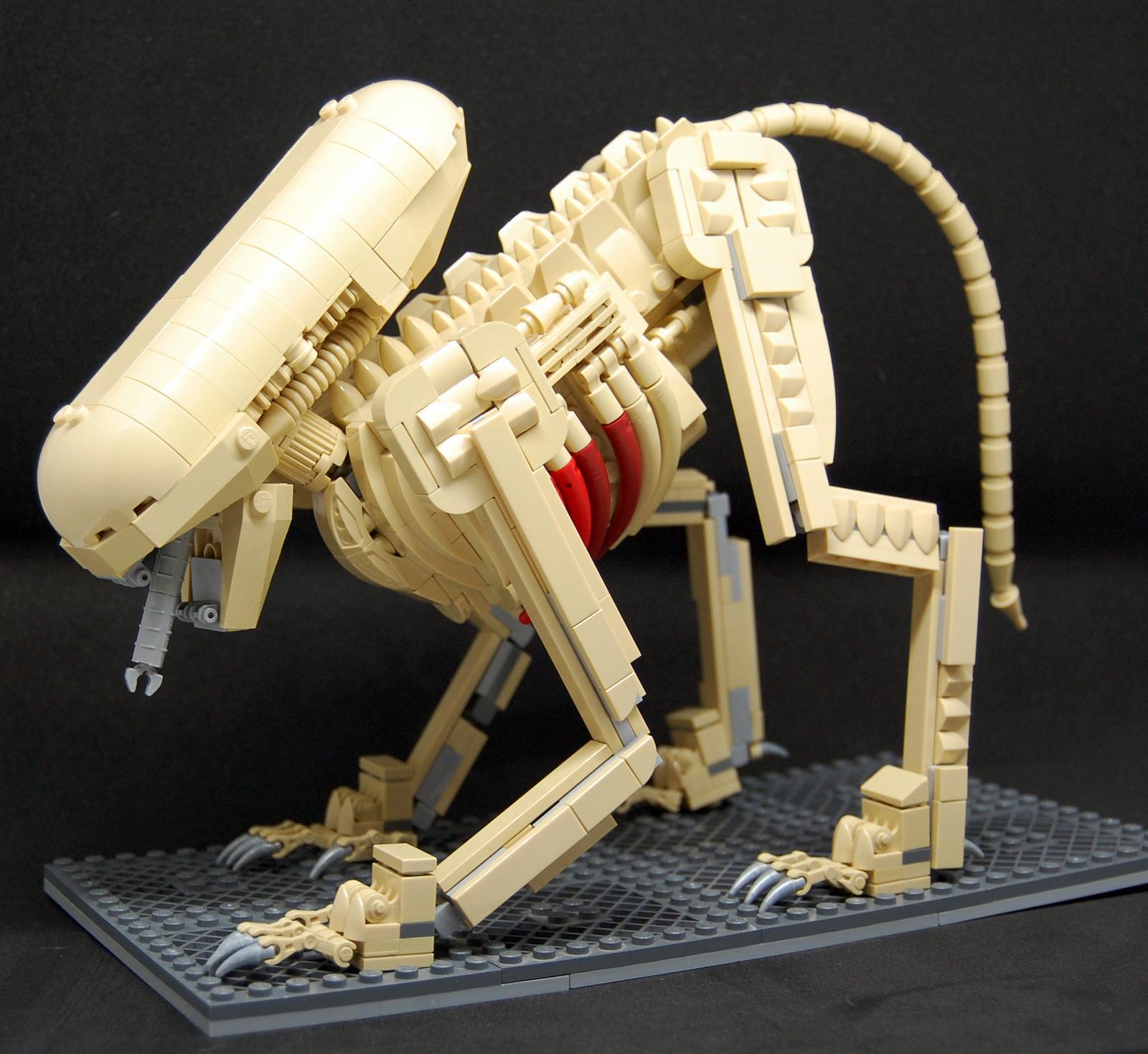 чужой самоделка lego