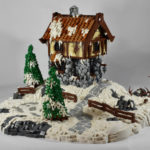 lego саморобка Winter Cottage