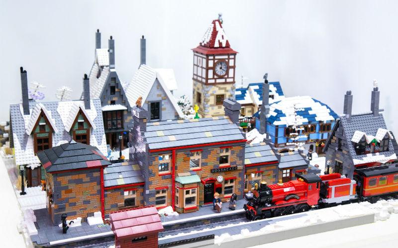 lego самоделка станция Хогсмит