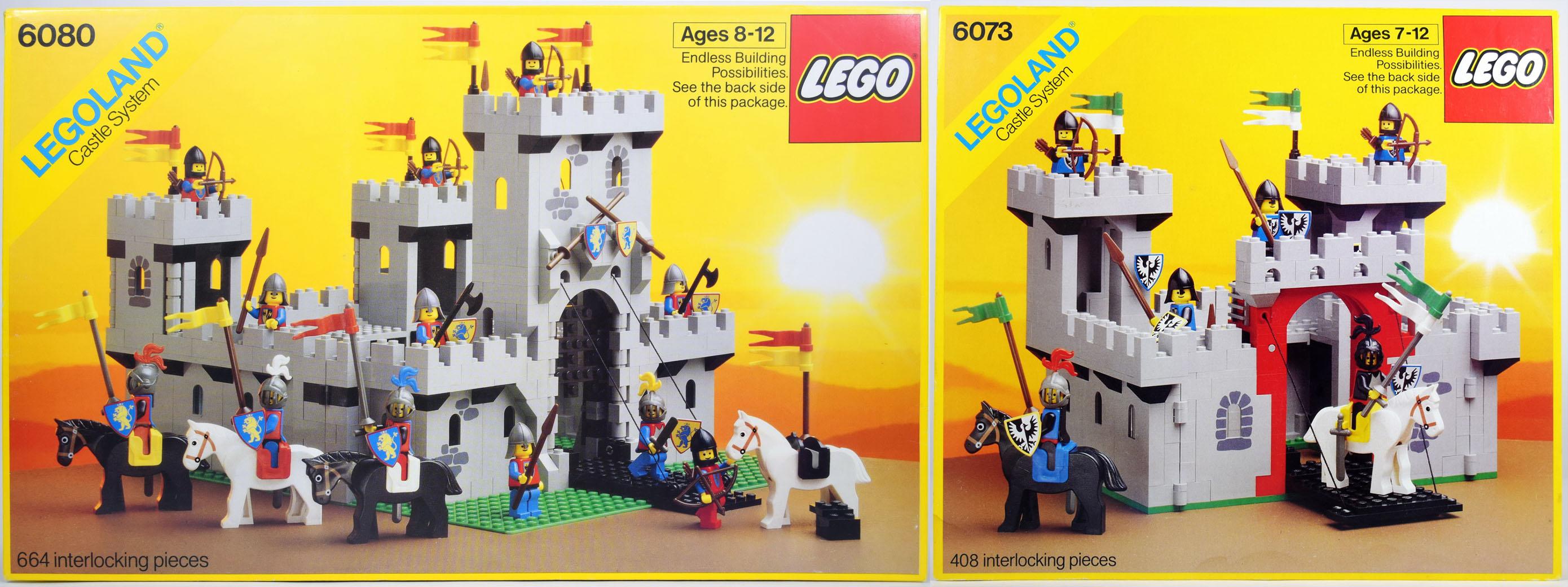 castles lego 1984